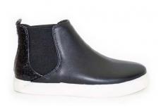 Juodi sportiniai įspiriami be pašiltinimo moteriški auliniai batai