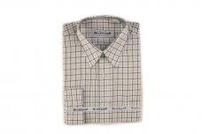 Balti languoti vyriški marškiniai Brilliant