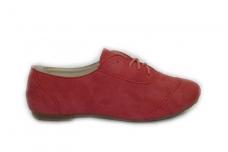 Raudoni su raišteliais batukai mergaitėms