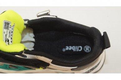 Balti-plki su lipuku suvarstyti gumyte Clibee sportiniai bateliai berniukams 7218b 4