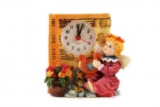 Dekoratyvinis laikrodis su žadintuvu