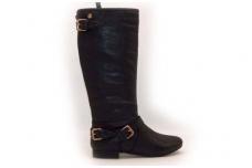 """Ilgi sezoniniai moteriški batai su """"auksinėmis"""" sagtelėmis"""