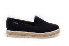 Juodi barchatiniai Vices moteriški batai su platforma