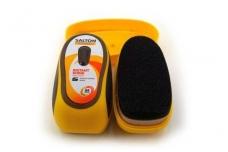 Juodos spalvos silikoninė batų kempinėlė SALTON
