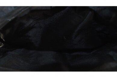 Juoda brezentinė GESIQI vyriška planšetė per petį 8221j 6