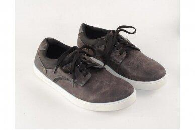 Juodi baltu padu  suvarstomi vyriški laisvalaikio batai 3
