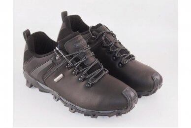 Juodi nat.odos suvarstomi Badoxx vyriški laisvalaikio batai 6642 3