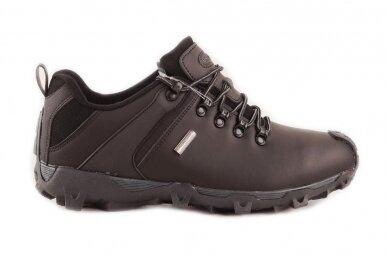 Juodi nat.odos suvarstomi Badoxx vyriški laisvalaikio batai 6642