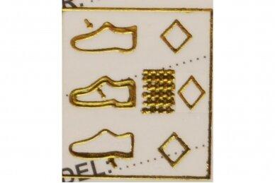 Juodi-sidabriniai su lipuku suvarstyti gumyte Clibee sportiniai bateliai mergaitėms 7258 5
