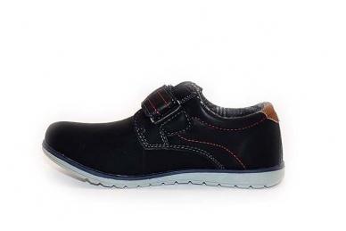 Juodi su lipdukais sportiniu padu BADOXX laisvalaikio batai berniukams 2