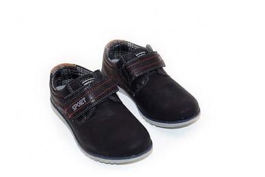 Juodi su lipdukais sportiniu padu BADOXX laisvalaikio batai berniukams 3