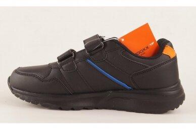 Juodi su lipukais Badoxx laisvalaikio batai berniukams 8170o 2