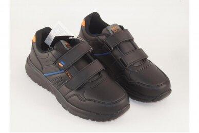 Juodi su lipukais Badoxx laisvalaikio batai berniukams 8170o 3