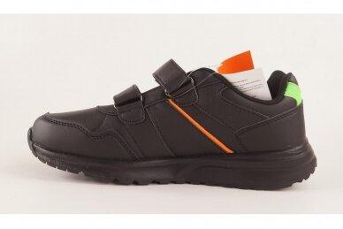 Juodi su lipukais Badoxx laisvalaikio batai berniukams 8170z 2