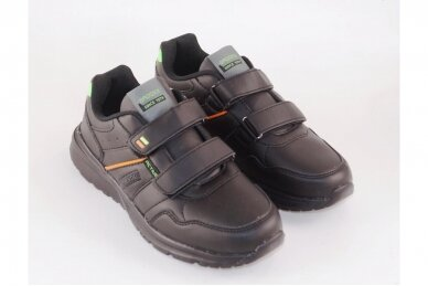 Juodi su lipukais Badoxx laisvalaikio batai berniukams 8170z 3