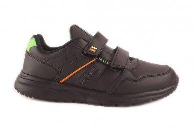 Juodi su lipukais Badoxx laisvalaikio batai berniukams 8170z