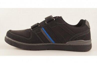 Juodi su lipukais Badoxx vyriški laisvalaikio batai 8242 2