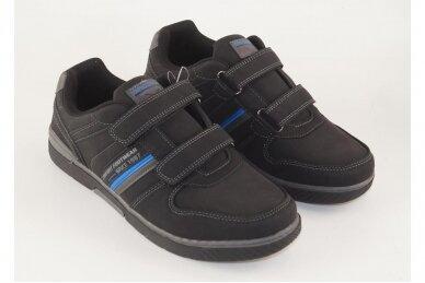 Juodi su lipukais Badoxx vyriški laisvalaikio batai 8242 3