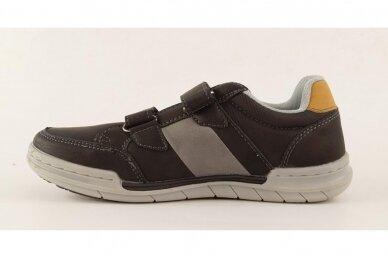 Juodi su lipukais laisvalaikio batai berniukams 0481 2