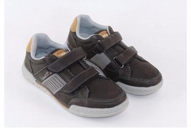 Juodi su lipukais laisvalaikio batai berniukams 0481 3