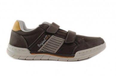 Juodi su lipukais laisvalaikio batai berniukams 0481