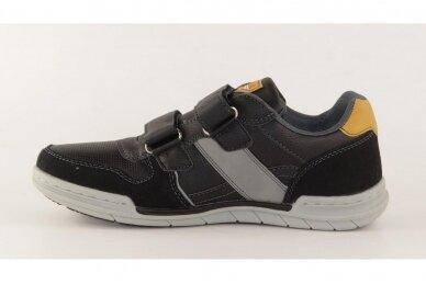 Juodi su lipukais laisvalaikio batai paaugliams 2