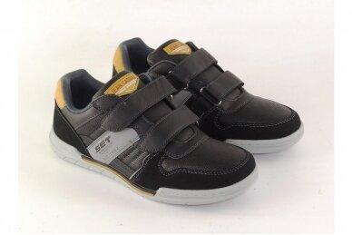 Juodi su lipukais laisvalaikio batai paaugliams 3