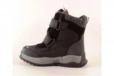 Juodi su lipukais Tom.m žieminai batai berniukams su vilnos kailiu 9619 3