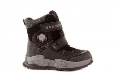 Juodi su lipukais Tom.m žieminai batai berniukams su vilnos kailiu 9619 2