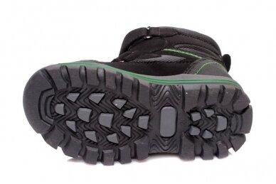 Juodi su lipukais Weestep termo batai berniukams su vilnos kailiu 4