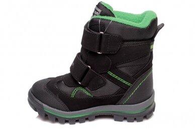Juodi su lipukais Weestep termo batai berniukams su vilnos kailiu 2