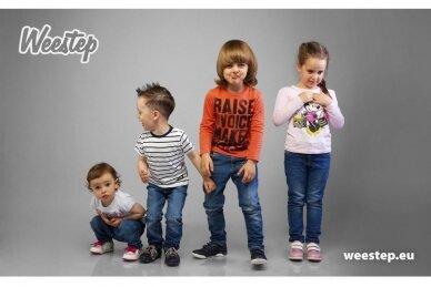 Juodi su lipukais Weestep termo batai berniukams su vilnos kailiu 5