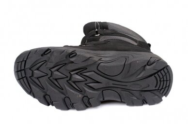 Juodi su lipukais Weestep termo batai berniukams su vilnos kailiu 8282 5