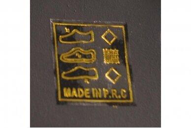 Juodi su užtrauktuku šone papuošti karoliukais moteriški aulinukai su pašiltinimu 9124 5