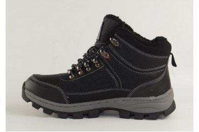 Juodi suvarstomi ArrigoBello vaikiški žieminiai batai su kailiu 8493 2