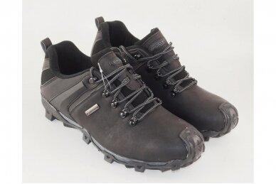 Juodi suvarstomi Badoxx vyriški laisvalaikio batai 8884 3