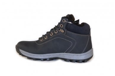 Juodi suvarstomi sportiniu padu Ax-Boxing vyriški žieminiai batai 7445 2