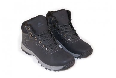 Juodi suvarstomi sportiniu padu Ax-Boxing vyriški žieminiai batai 7445 3