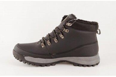 Juodi suvarstomi su vilnos kailiu AXBOXING sportiniai vyriški žieminiai batai 8509 2