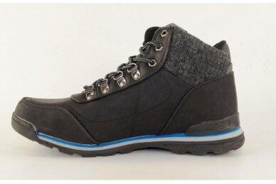 Juodi suvarstomi su vilnos kailiu Badoxx sportiniai vyriški žieminiai batai 7585 2