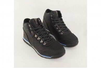Juodi suvarstomi su vilnos kailiu Badoxx sportiniai vyriški žieminiai batai 7585 3