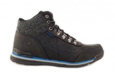 Juodi suvarstomi su vilnos kailiu Badoxx sportiniai vyriški žieminiai batai 7585