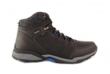 Juodi suvarstomi su vilnos kailiu Badoxx sportiniai vyriški žieminiai batai 8120
