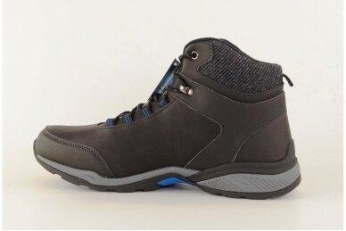 Juodi suvarstomi su vilnos kailiu Badoxx sportiniai vyriški žieminiai batai 8120 2