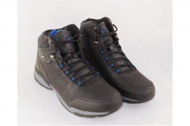 Juodi suvarstomi su vilnos kailiu Badoxx sportiniai vyriški žieminiai batai 8120 3