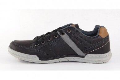 Juodi suvarstomi vyriški laisvalaikio batai sportiniu padu 9593 2