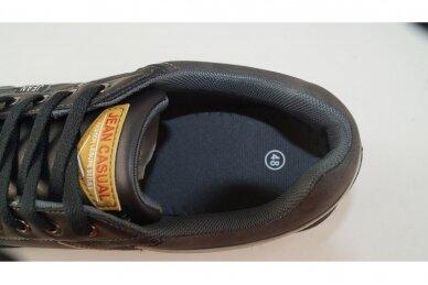 Juodi suvarstomi vyriški laisvalaikio batai sportiniu padu 9593 4