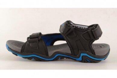 Juodos+mėlynos su trim lipdukais V&G basutės berniukams 7601 2