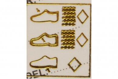 Juodos+raud. su trim lipdukais V&G basutės berniukams 7601 4