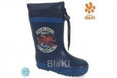 Mėlyni BL&KL botai berniukams 0862 su pašiltinimu